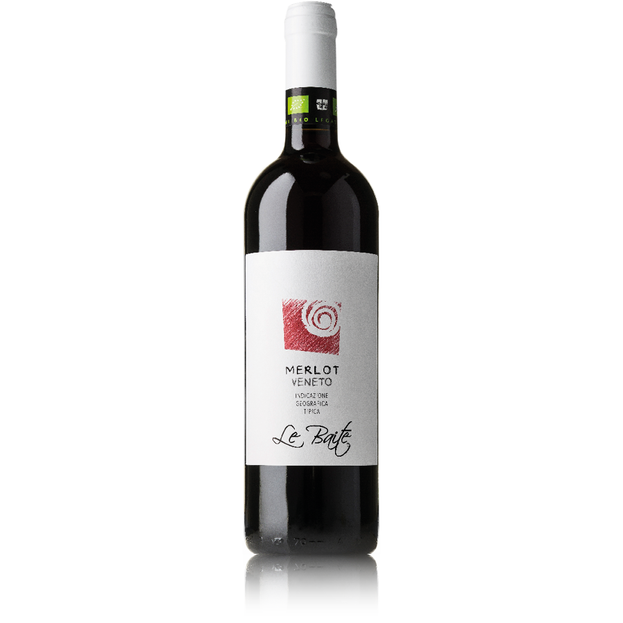 Merlot IGT Veneto - Vino rosso biologico - Le Baite