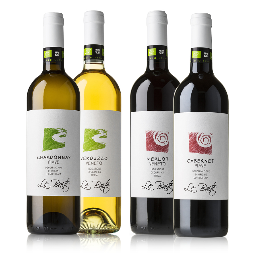 Group of organic wine