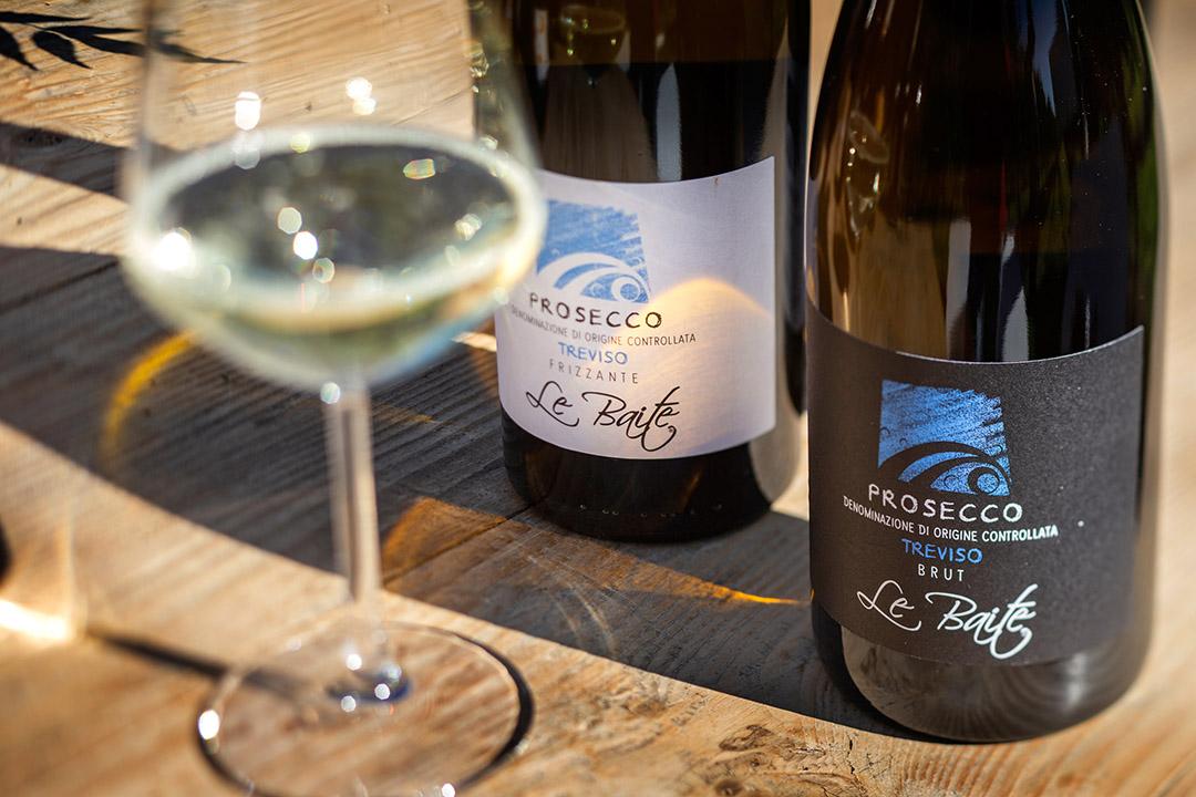Prosecco Biologico in tavola - vini Le Baite